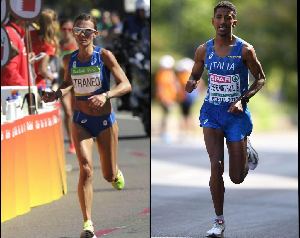 Straneo e Faniel guidano gli azzurri per i Campionati Mondiali di mezza maratona