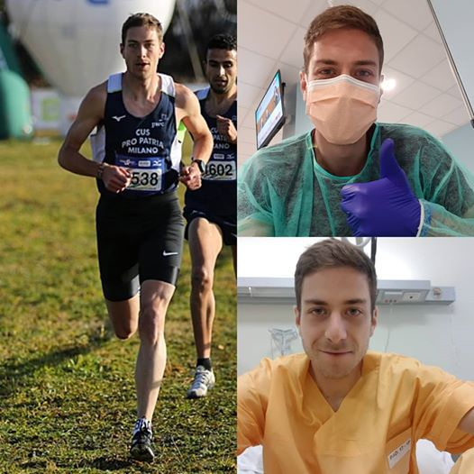 """Coronavirus guarito Edoardo Melloni:  l'atleta del CUS Milano, """"Mi sento fortunato"""""""