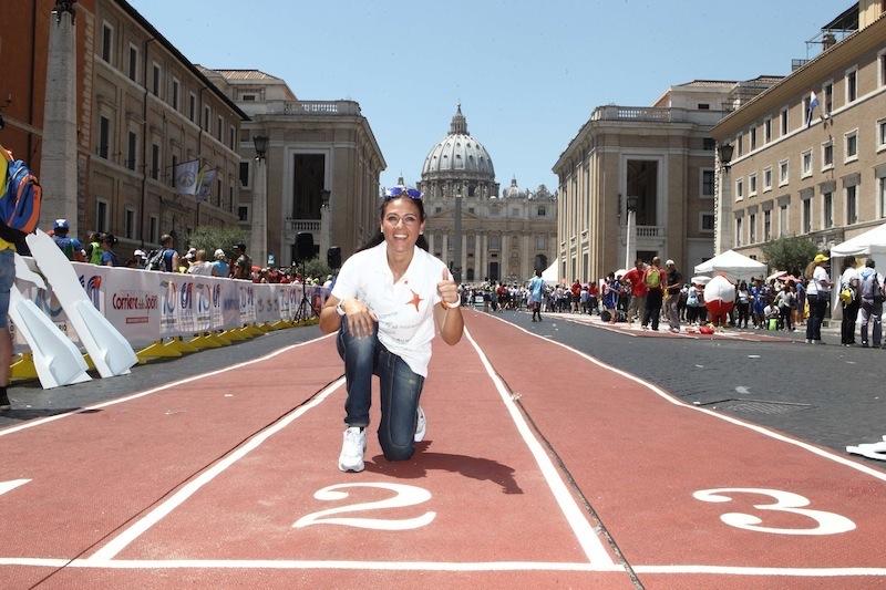 Giusy Versace invita tutti a celebrare la Giornata Mondiale dello Sport per lo Sviluppo e la Pace