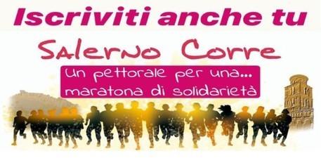 Salerno Corre l'Half Marathon: la prima edizione il prossimo 19 aprile.  Da un appuntamento cancellato nasce la solidarietà