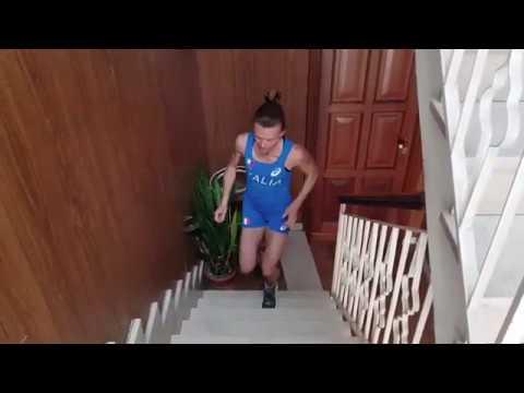 Il video di Valeria Straneo che ci mostra come si allena a casa ai tempi del coronavirus