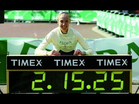 Il video del record mondiale di maratona di Paula Radcliffe il 13 aprile di 17 anni fa