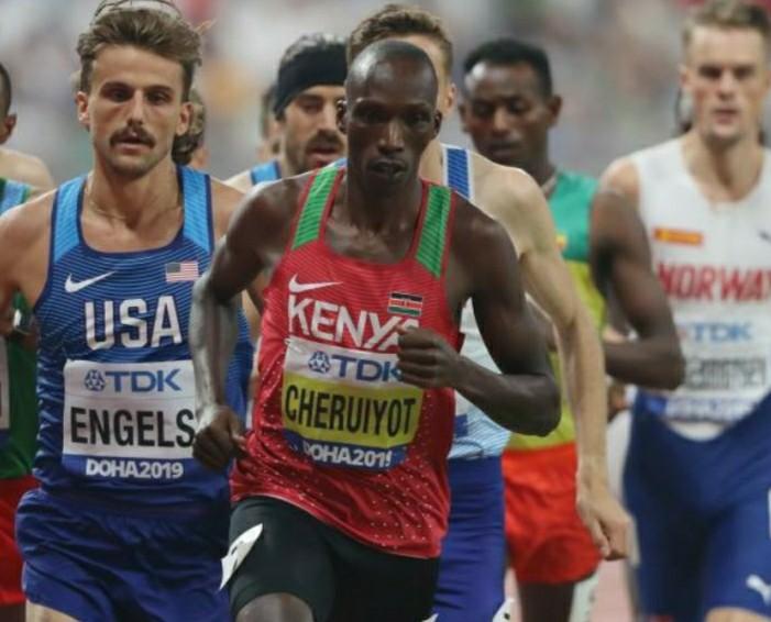 """Il grande rammarico del campione mondiale dei 1.500 m. Cheruiyot, """"ormai ho perso l'occasione di battere il record mondiale"""""""