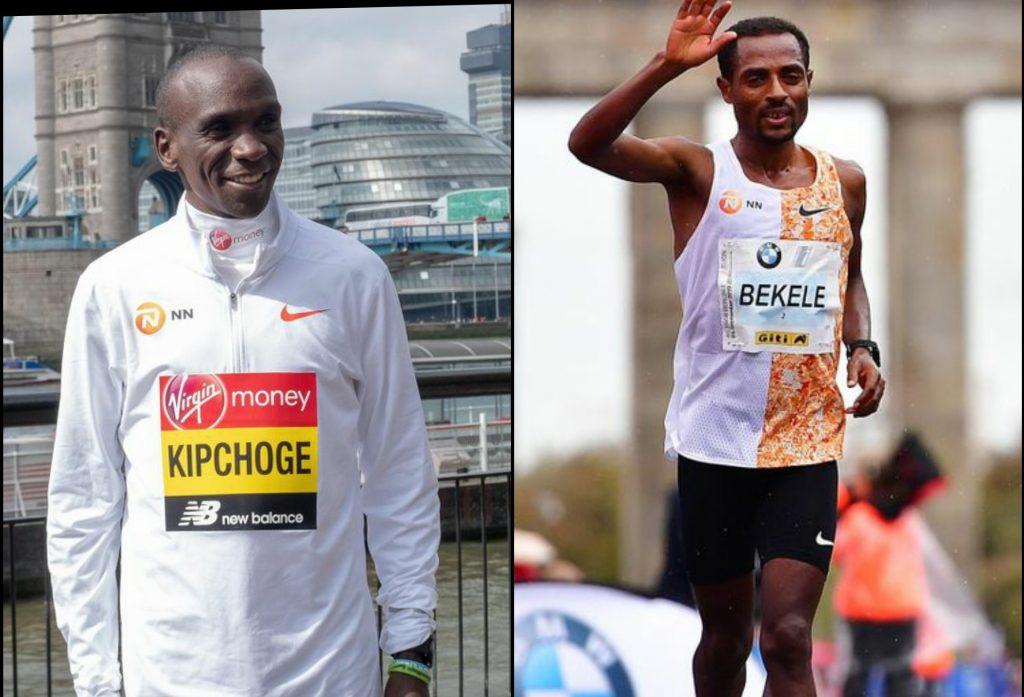 Kipchoge e Bekele lottano per mantenersi in forma mentre la Maratona di Londra rimane nel limbo