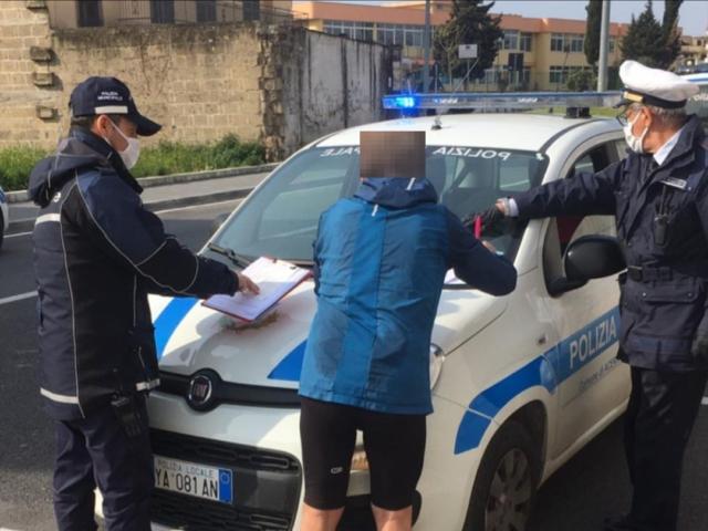 Coronavirus runner multati, da Biella a Napoli tutto il mondo è paese!