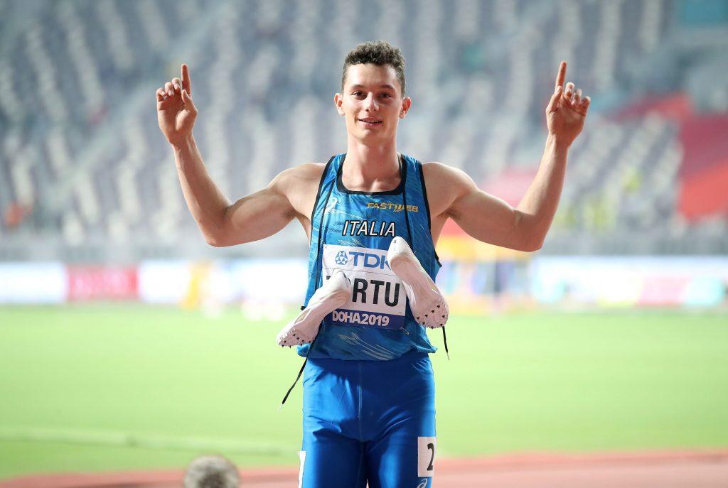 Filippo Tortu felice di poter riprendere gli allenamenti in pista