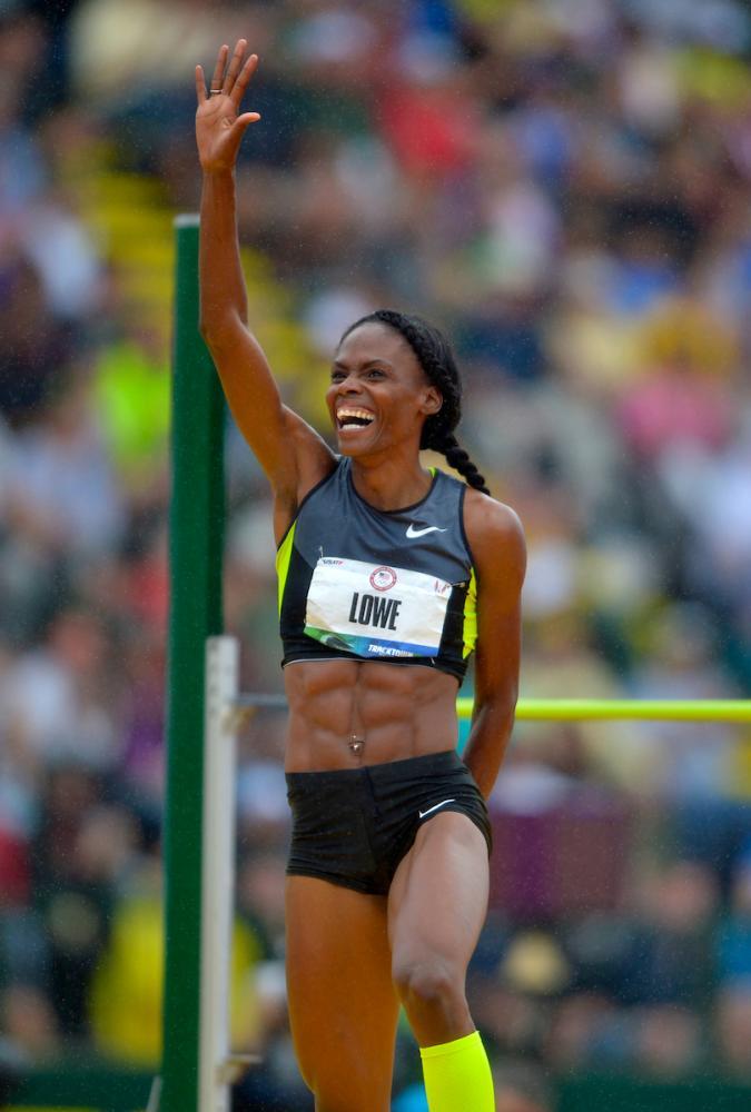 """Dopo aver sconfitto il cancro la saltatrice  Chaunte Lowe punta in """"alto"""""""