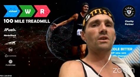 Statunitense stabilisce 2 record mondiali di resistenza sul tapis roulant