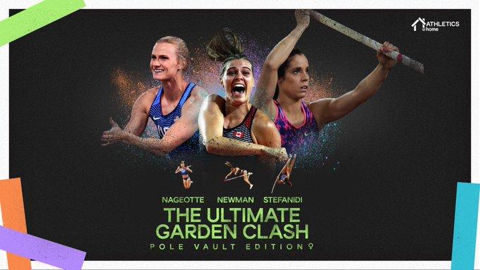 """Stasera ore 18.00  il LIVE STREAMING della seconda """"Ultimate Garden Clash"""" di salto con l'asta femminile"""