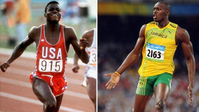 Usain Bolt e Carl Lewis non sono esattamente amici intimi