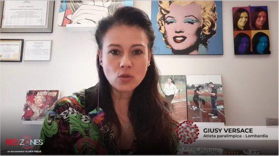 Giusy Versace racconta il suo lockdown a Red Zones domenica skytg24