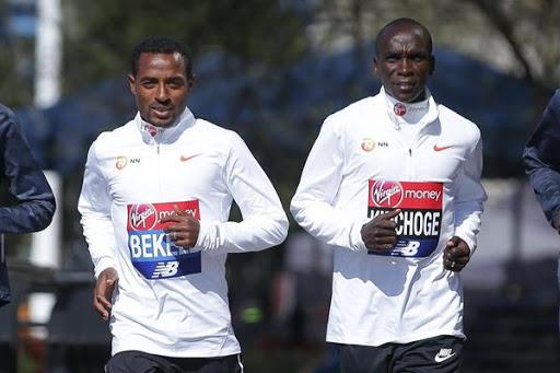 Kipchoge e Bekele si affronteranno in una maratona a staffetta virtuale aperta a tutti