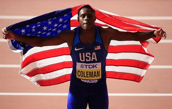 Christian Coleman momentaneamente sospeso per aver saltato un controllo andidoping