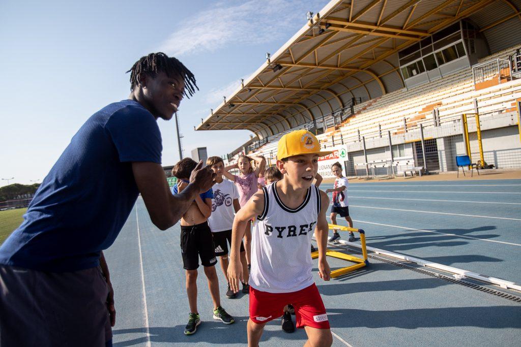 A Lignano Track and Field camp targato Gazzetta dello Sport con i campioni giamaicani