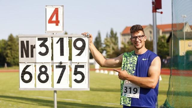 Record europeo Under 23 nel lancio del disco di Kristjan Ceh