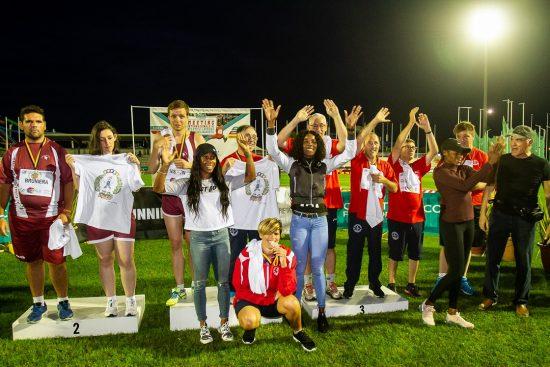Meeting Sport Solidarietà 2019 - Fraser, Thompson e Jackson testimonial