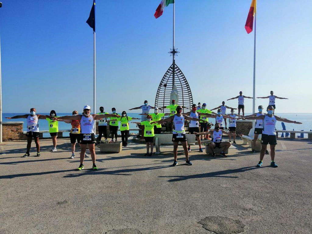 Runners Casalbordino di nuovo in corsa in omaggio alla Notturna del Campanile che non c'è stata!