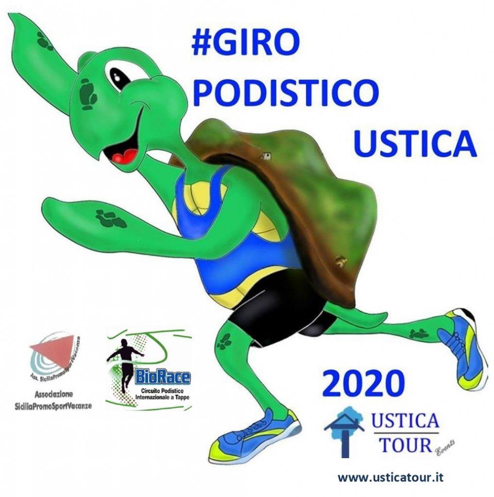 Giro Podistico a tappe isola di Ustica: dal 13 al 18 luglio un'edizione speciale (ludico motoria/non competitiva)