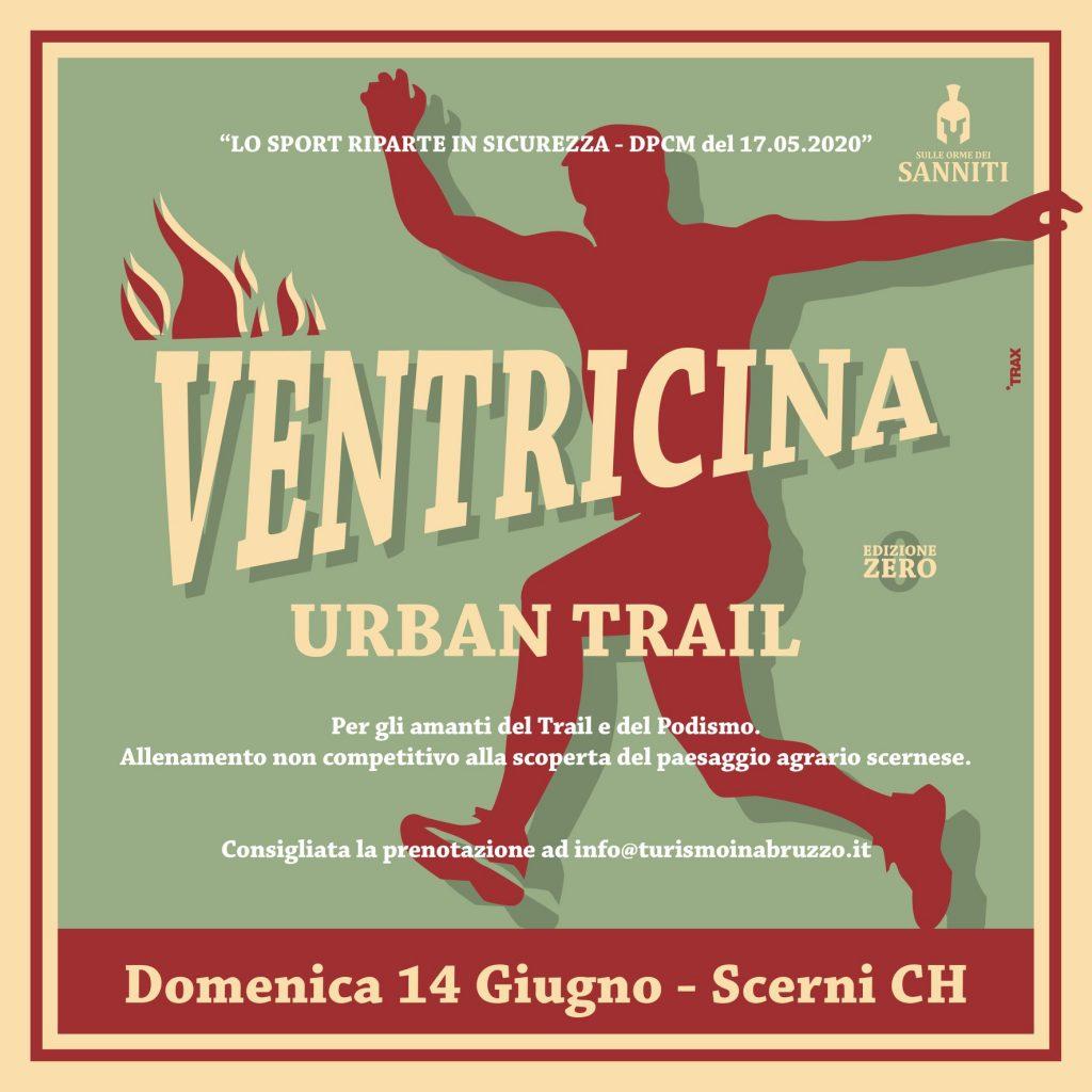 Ventricina Urban Trail: il 14 giugno alla scoperta del nuovo trail podistico di Scerni