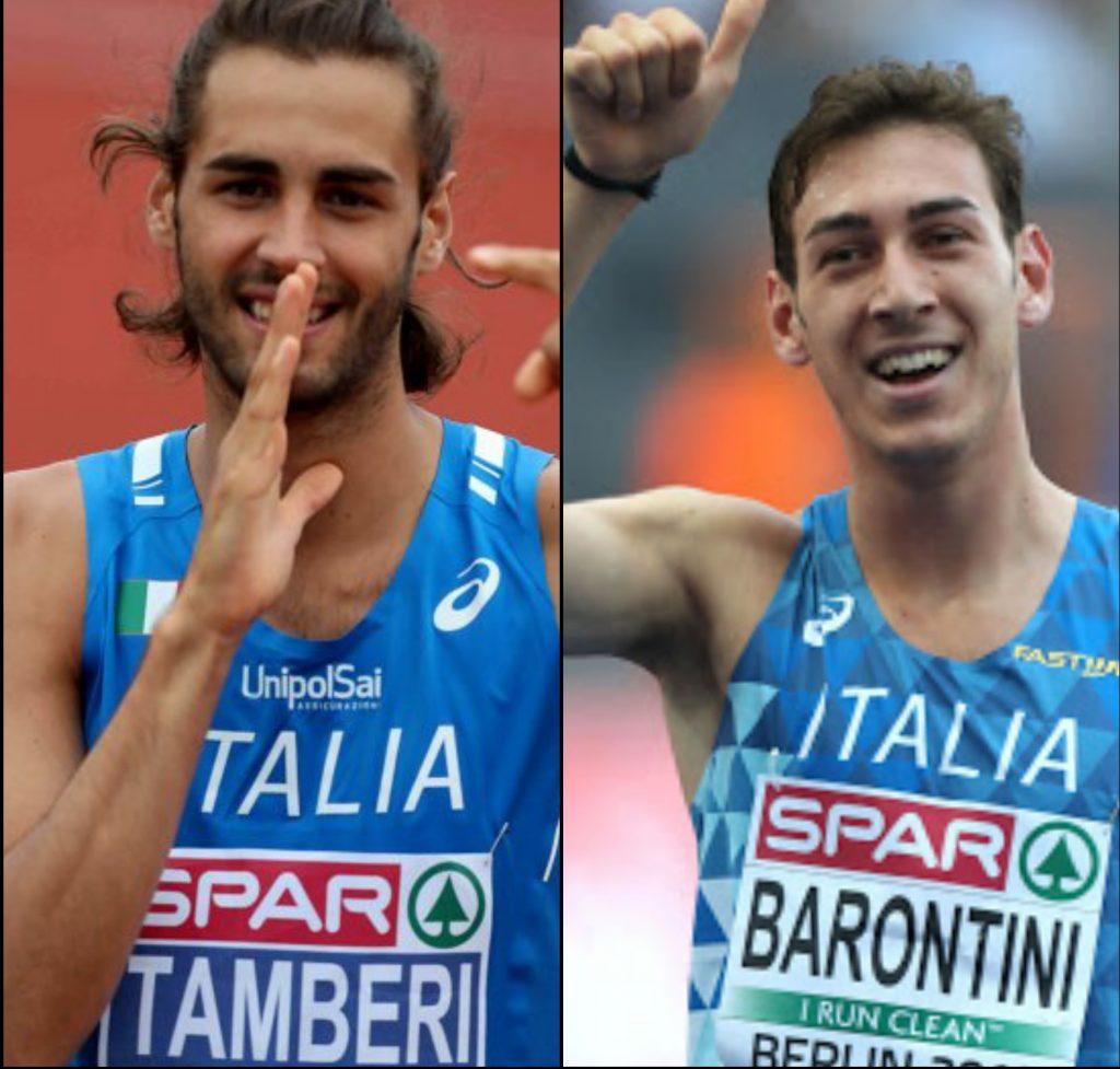 Tamberi e Barontini attesi in gara il 25-28 giugno ad Ancona