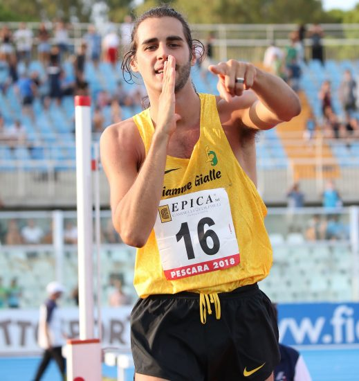 Gianmarco Tamberi scatenato ad Ancona, 2,30! Eguagliata la miglior prestazione mondiale