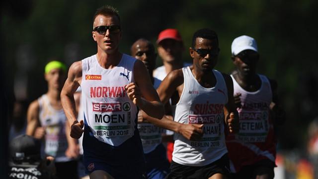 Sondre Moen a caccia del record europeo dell'ora