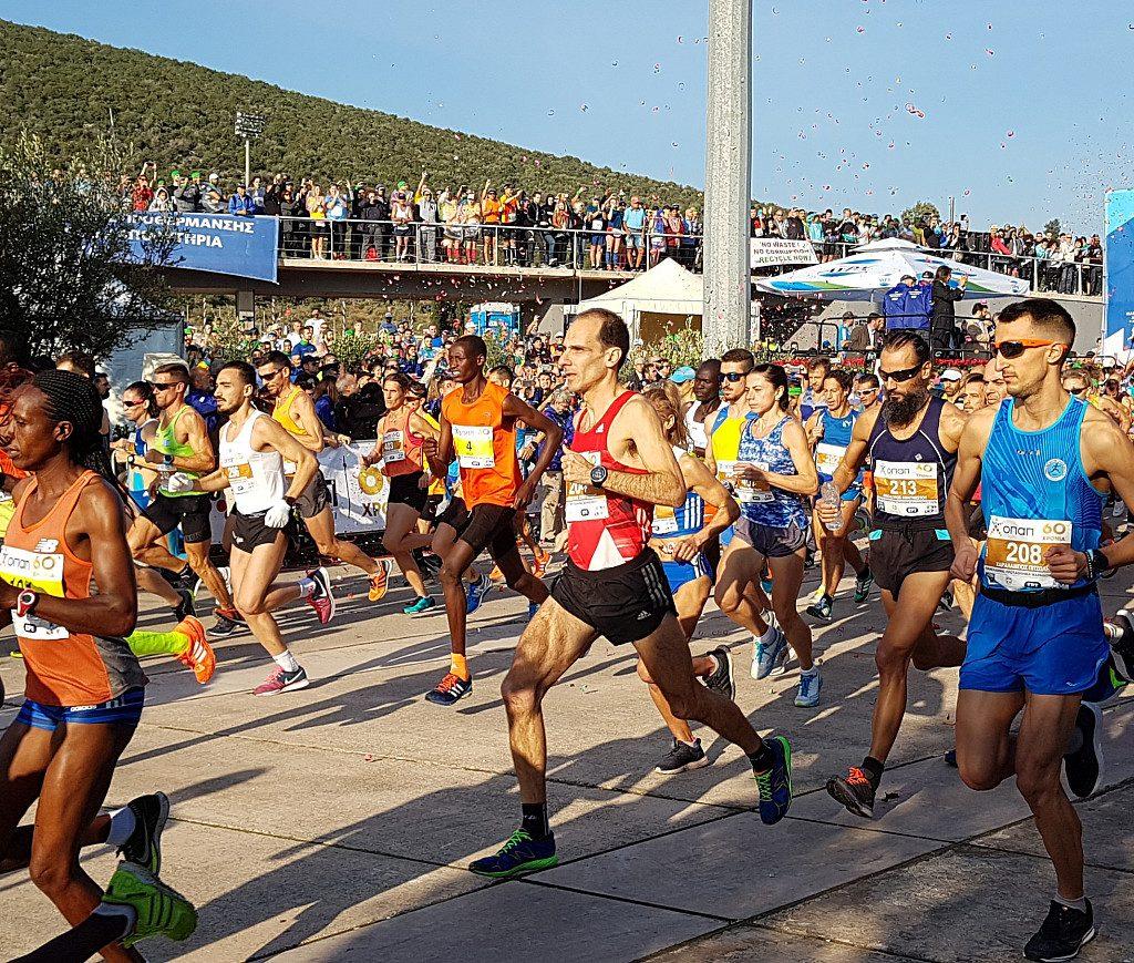La Maratona di Atene si correrà a novembre con partecipazione di massa