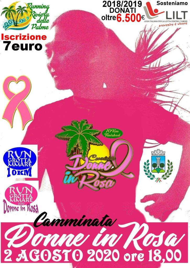 Lega Italiana Lotta ai Tumori e Lega del Filo d'Oro: l'evento podistico Donne in Rosa sempre più nel segno della solidarietà