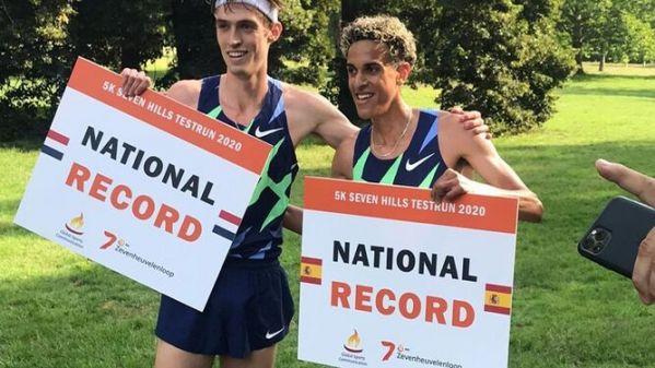 Sfiorato il record europeo dei 5 km su strada (in gran segreto) dallo spagnolo Oumaiz