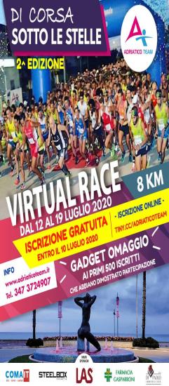 """Di Corsa Sotto le Stelle: seconda edizione nella versione """"Virtual Race�"""