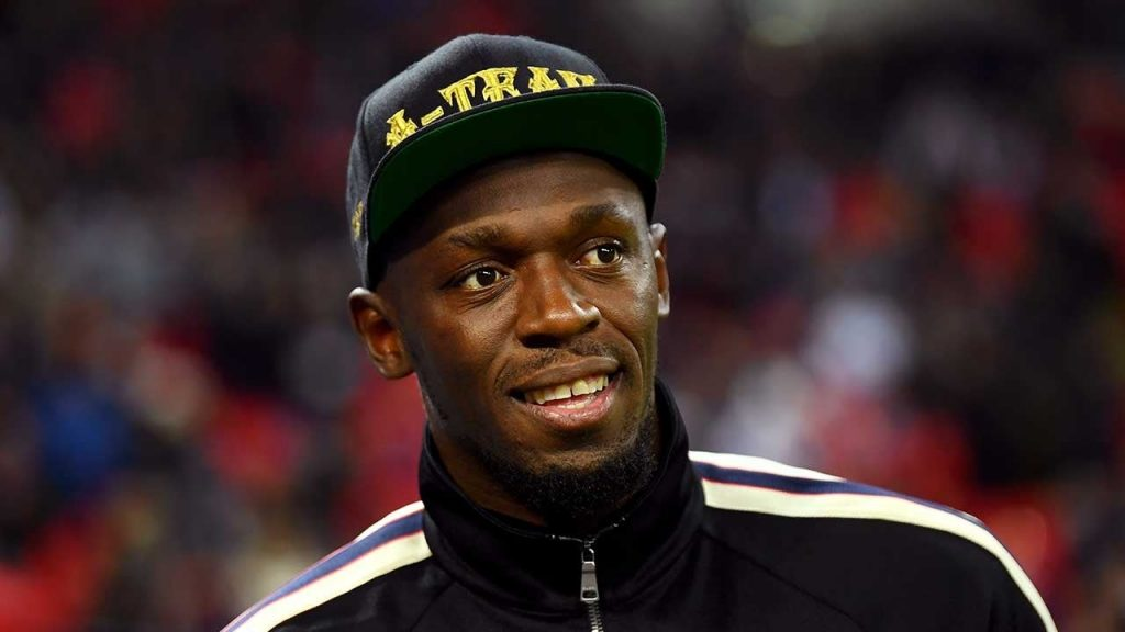 Usain Bolt rivela il nome di sua figlia e condivide le foto della bambina