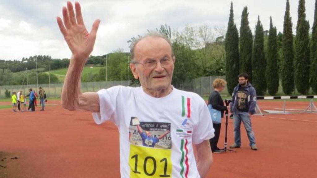 Ci ha lasciato a 104 anni Giuseppe Ottaviani, pluricampione di atletica Master