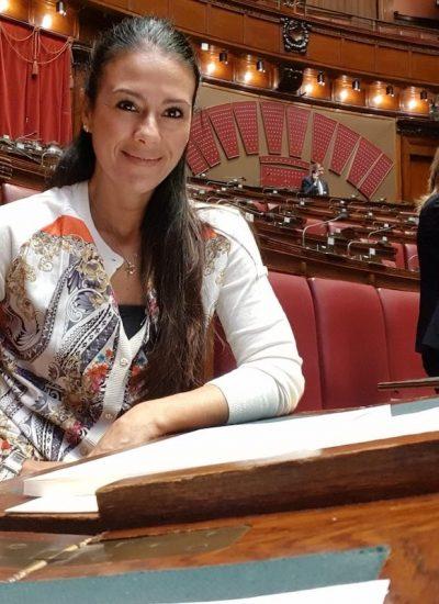 Giusy Versace mette a segno un goal significativo in Parlamento!