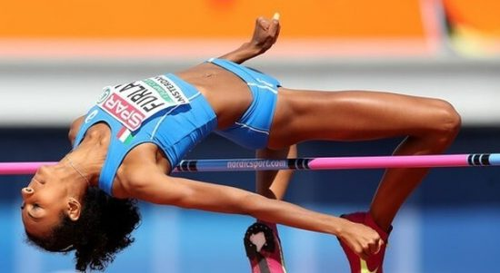 Erika Furlani grande esordio nell'alto, 1,94 a Rieti