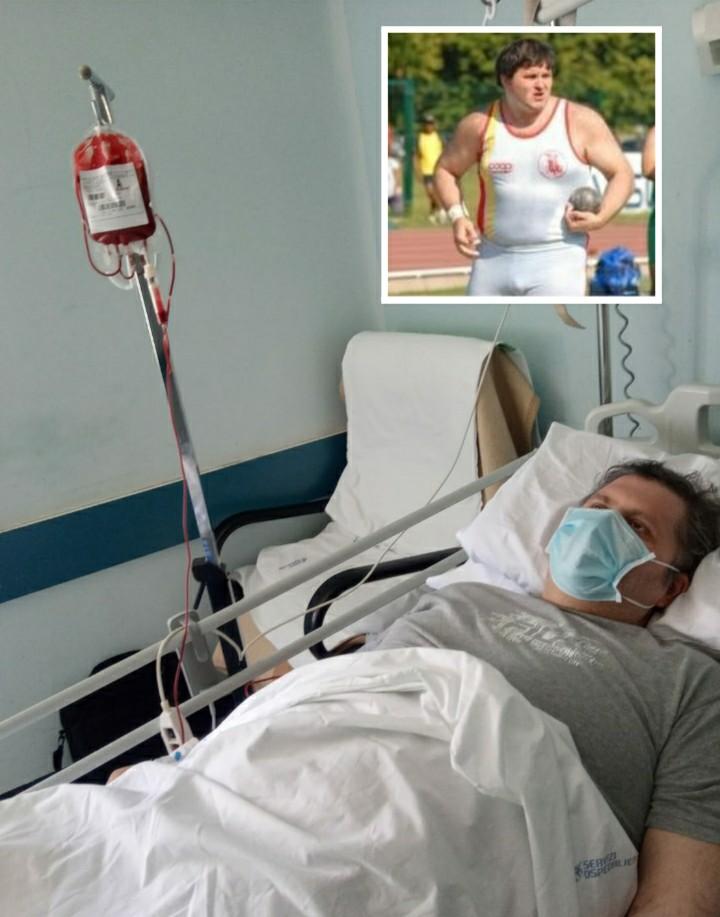 Vivo per miracolo l'ex atleta 47enne Gianluca Francioni- le foto in esclusiva