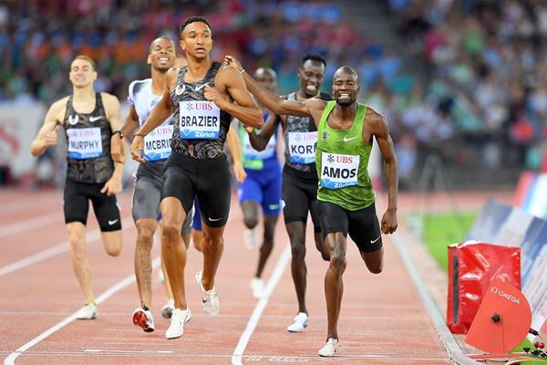 Donavan Brazier in gara oggi 19 agosto in Ungheria alla ricerca del record dei 600 metri- LA DIRETTA STREAMING