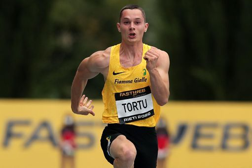 """Filippo Tortu chiude in 10""""18 i 100 metri in Svizzera"""