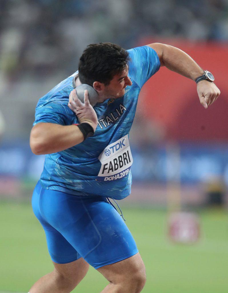 A Palmanova Leonardo Fabbri vince con 20.24, progresso di Weir oltre i 20 metri