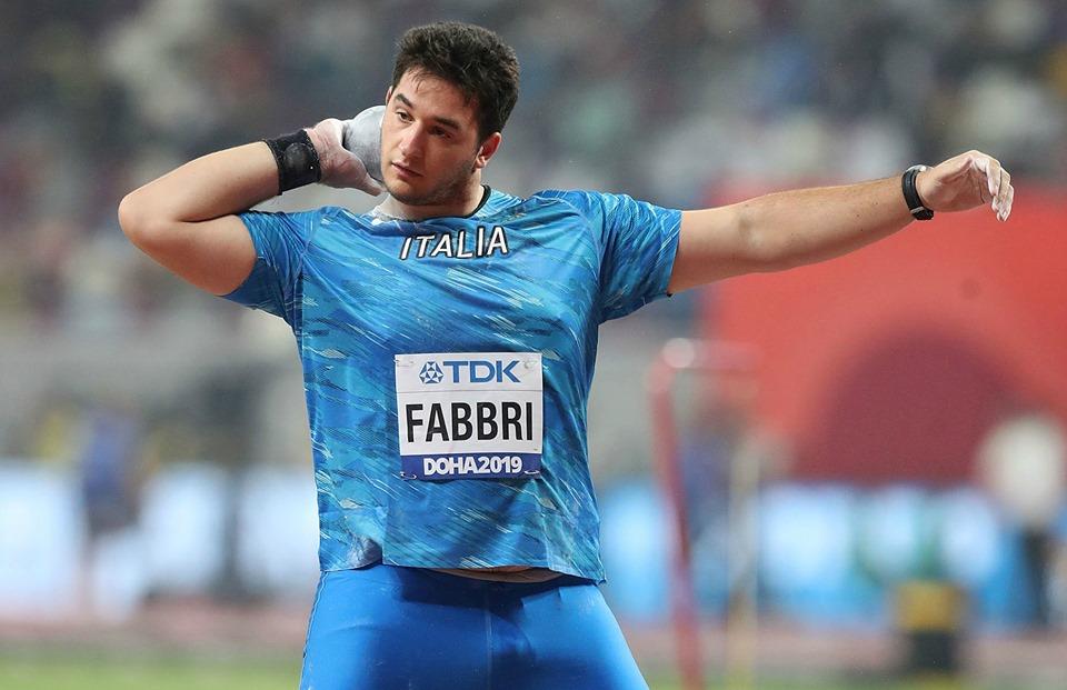 Leonardo Fabbri gran bordata nel peso a Udine