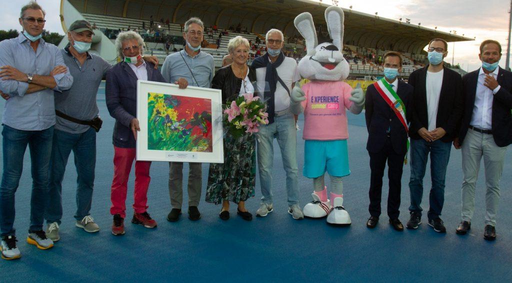 31° Meeting Sport Solidarietà - la pioggia non frena l' entusiasmo dell'evento con Sara Simeoni