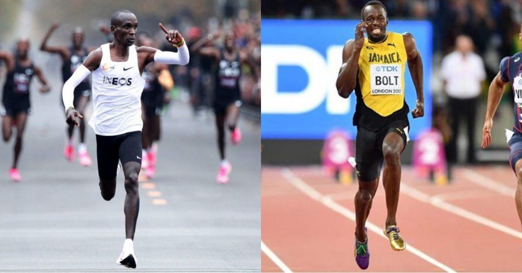 Eliud Kipchoge invita Usain Bolt a visitare il Kenya