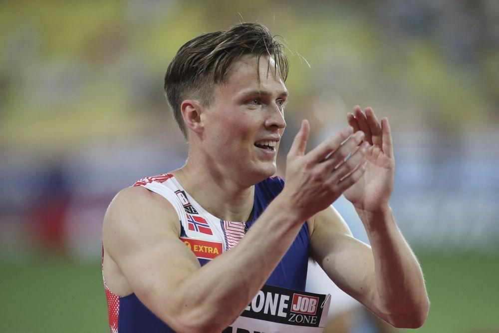 Stoccolma: Karsten Warholm fa tremare il record mondiale dei 400 metri ostacoli