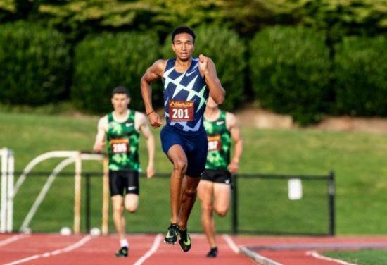 Miglior prestazione mondiale negli 800 metri per Donovan Brazier con 1: 43,84