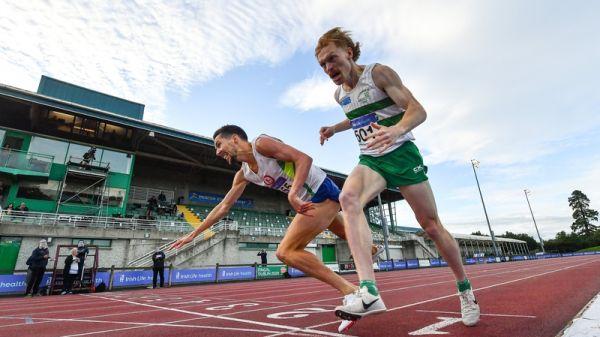 Il video del drammatico finale dei 1500 metri ai campionati irlandesi