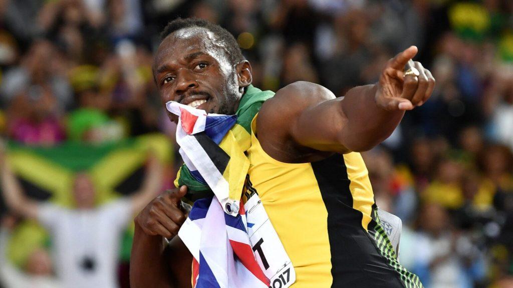 Una statua di Bolt  per celebrare la storia della parrocchia in Giamaica