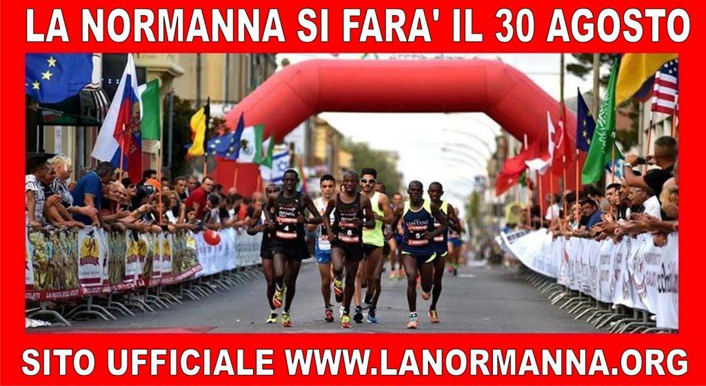 La Normanna gara Podistica Internazionale, si correrà il 30 agosto 2020 a Mileto