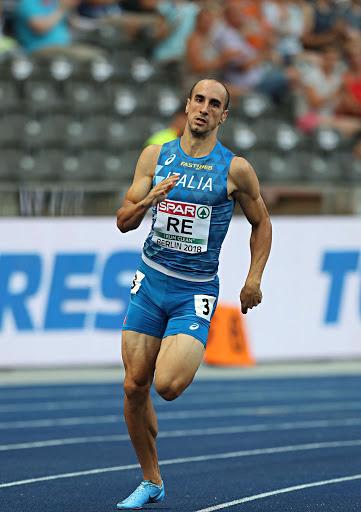 Infortunio di Davide Re nei 400 metri a Stoccolma