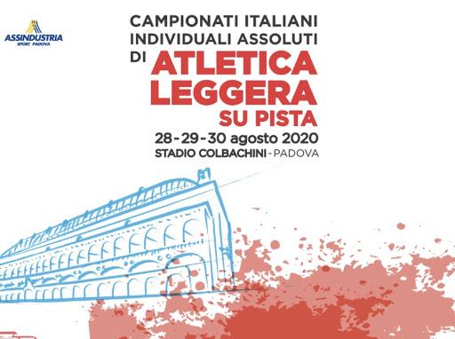 Assoluti Padova: oggi venerdì 28 agosto inizia la 3 giorni, il programma, le date, gli orari e le diretta Tv