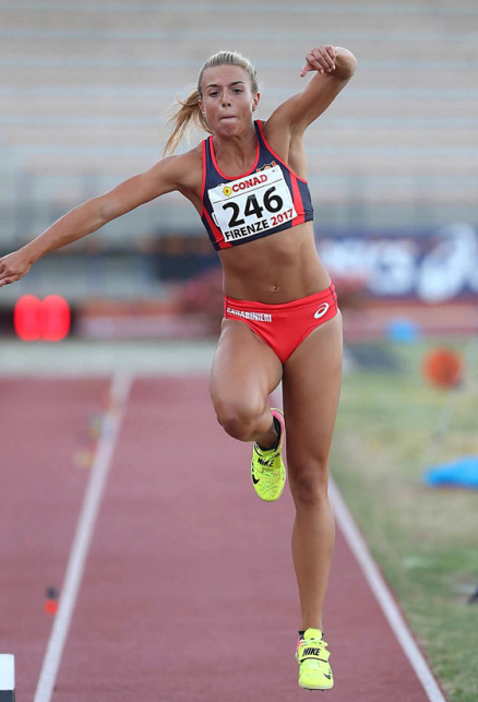 Ottavia Cestonaro salta 13,62  nel triplo  dopo l'infortunio