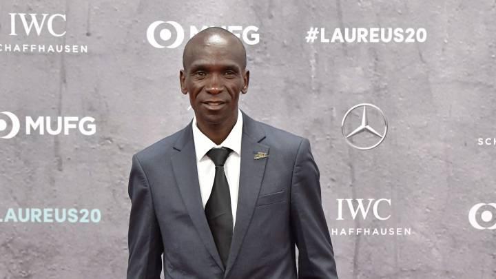 Eliud Kipchoge conferma che correrà la maratona di  Londra e  quella olimpica di Tokyo 2021
